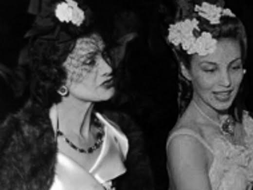 Coco Chanel and Aimée de Heeren in 1939