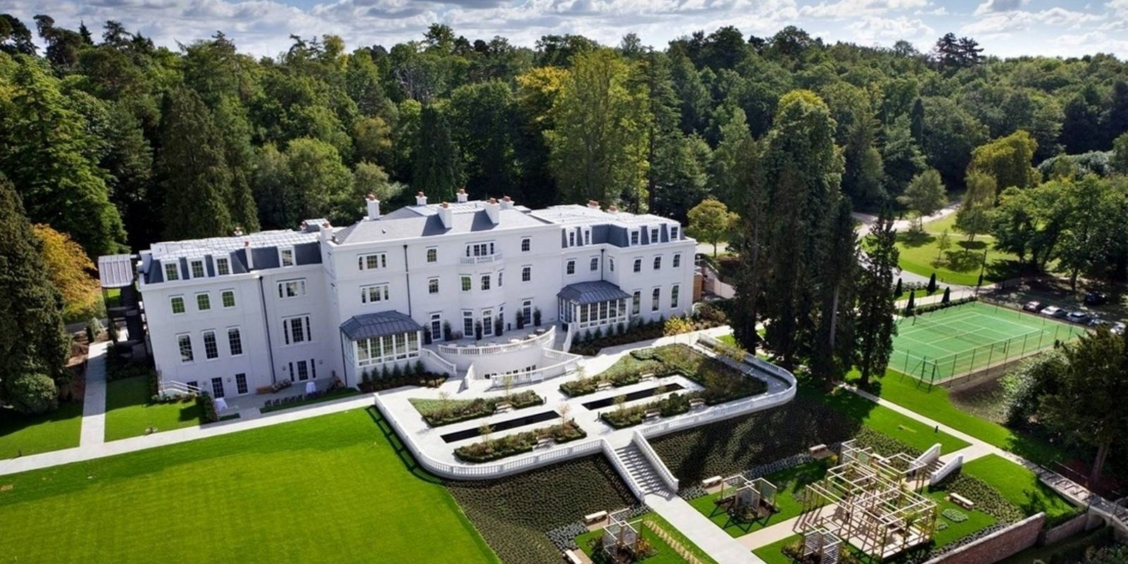 Coworth Park Hotel in Ascot