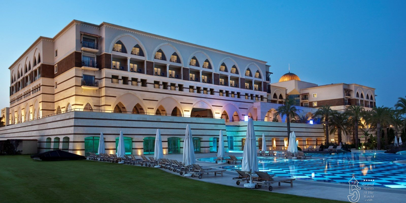 Hotel The Dome in Belek by Kempinski