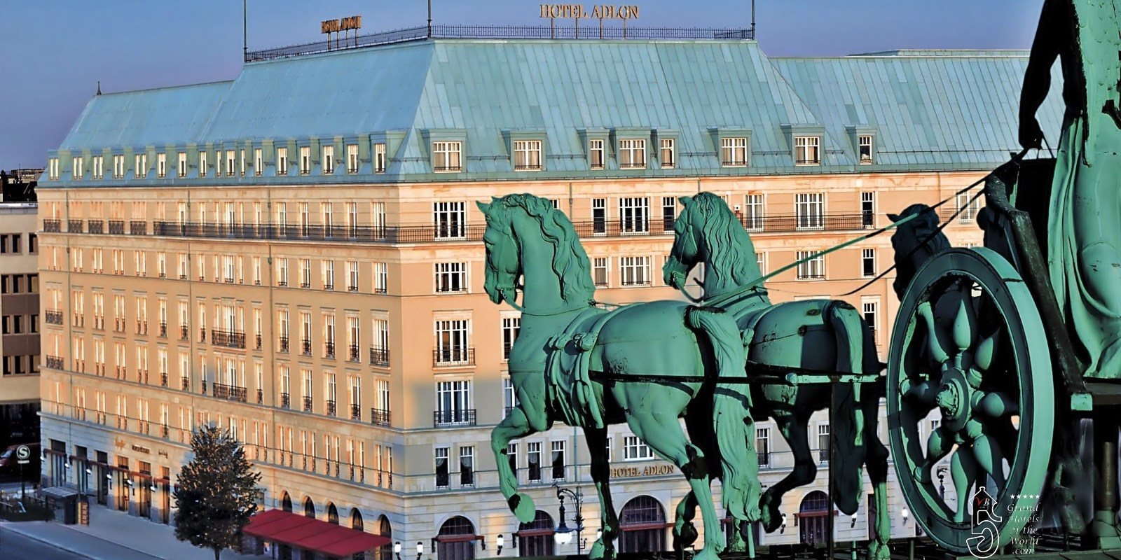 Hotel Adlon in Berlin by Kempinski