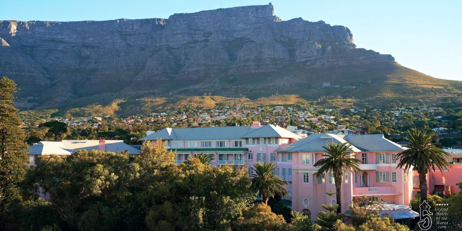 Mount Nelson Hotel in Cape Town