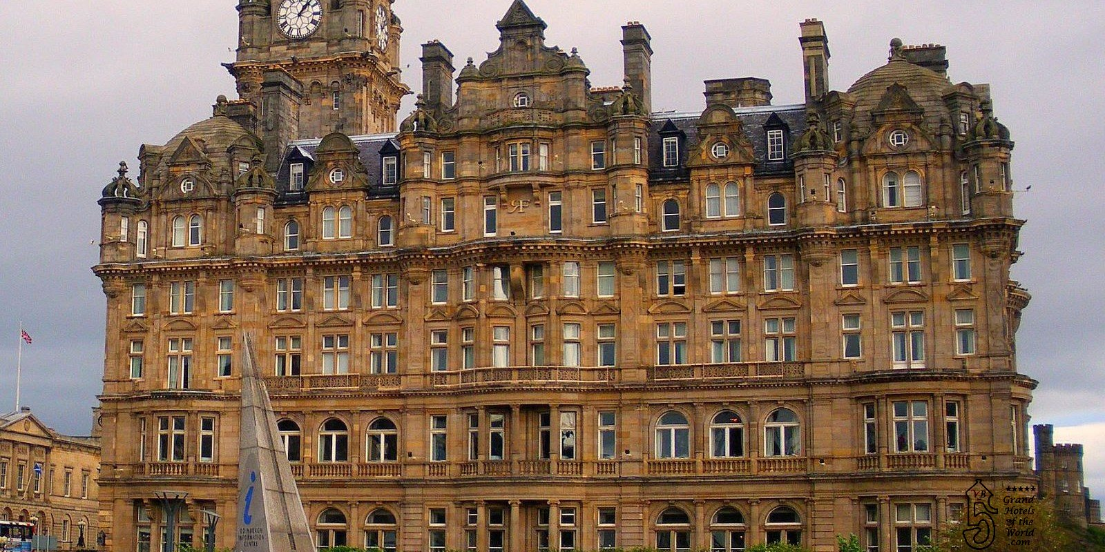 Balmoral Hotel Edinburgh By Grand Hotels Of The World Com