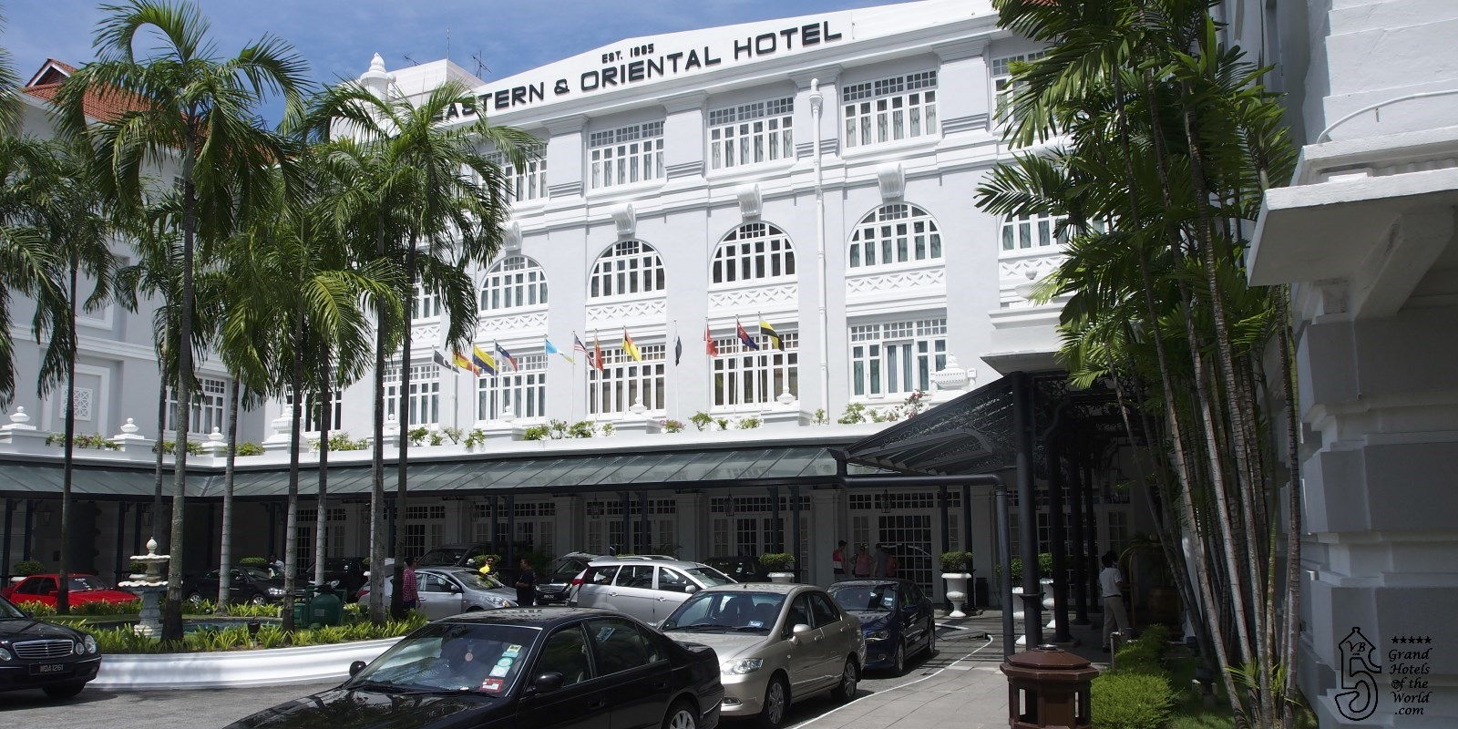 Eastern and Oriental Hotel in George Town