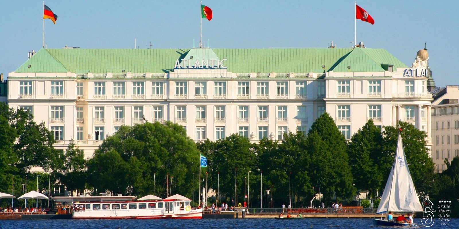 Hotel Atlantic in Hamburg by Kempinski