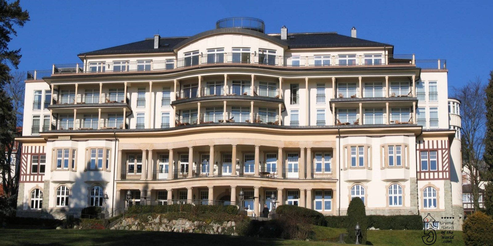 Grand Hotel Falkenstein in Konigstein