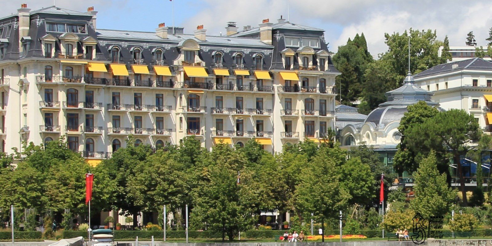 Beaurivage Palace in Lausanne