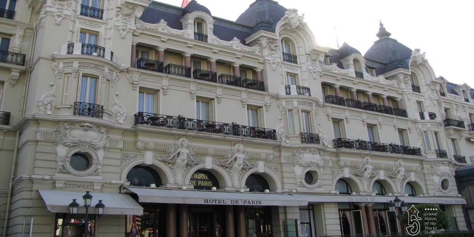 Hotel de paris monaco by grand hotels of the for Hotel de paris
