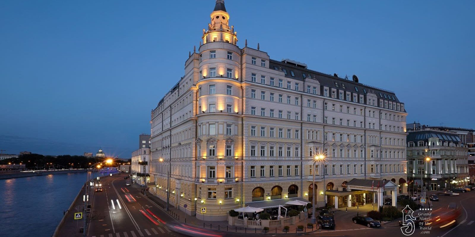 Hotel Baltschug in Moscow by Kempinski