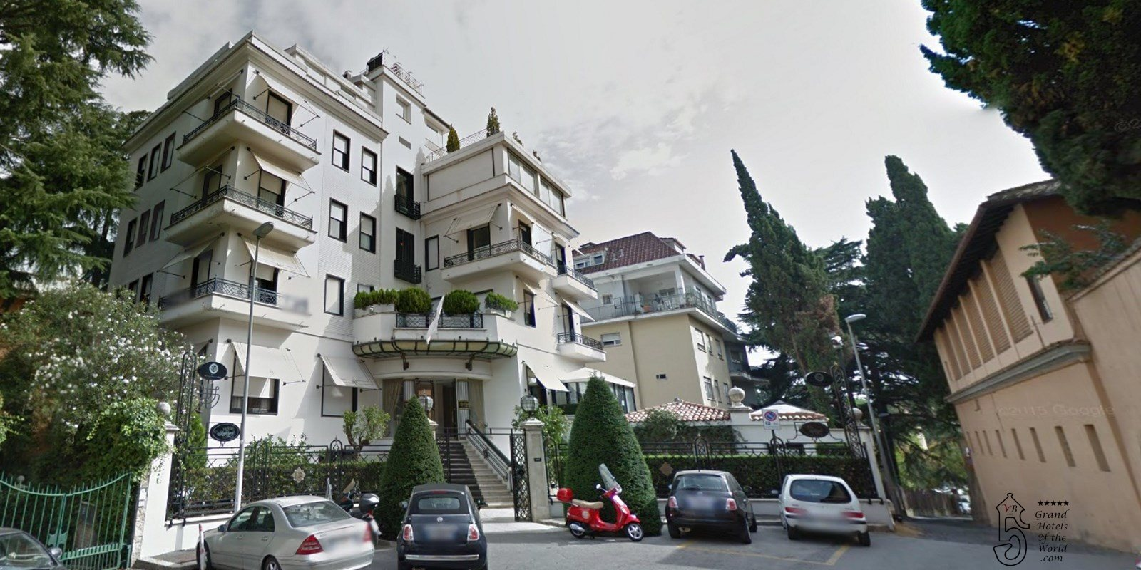 Hotel Lord Byron in Rome