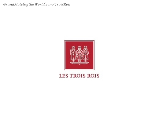 Grand Hotel les Trois Rois in Basel - Logo