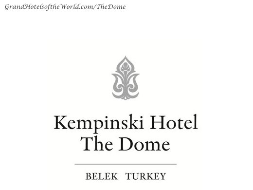 Hotel The Dome in Belek by Kempinski - Logo