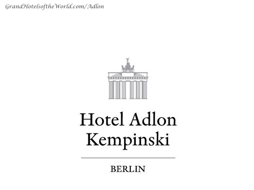 Hotel Adlon in Berlin by Kempinski - Logo