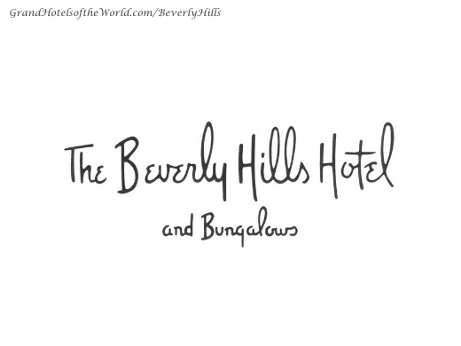 Beverly Hills Hotel in Beverly Hills - Logo