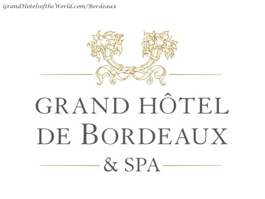 Grand Hotel de Bordeaux - Logo