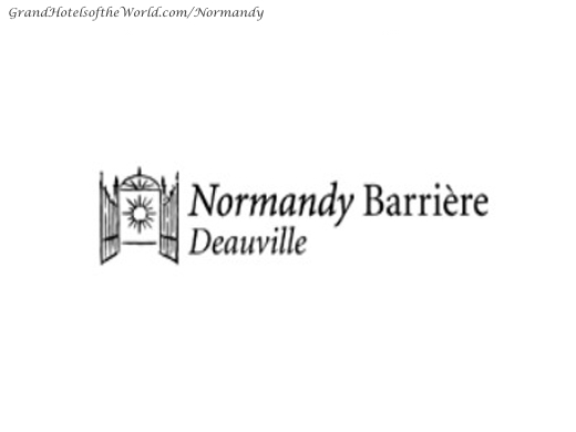 Hotel Normandy in Deauville - Logo