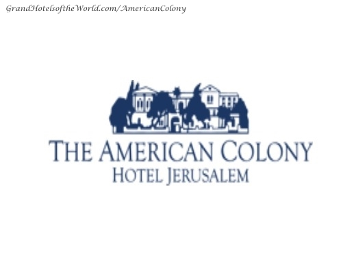 American Colony Hotel in Jerusalem - Logo