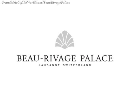 Beaurivage Palace in Lausanne - Logo