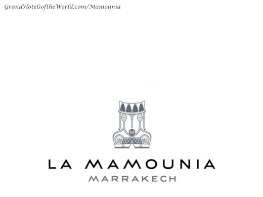 La Mamounia in Marrakech - Logo