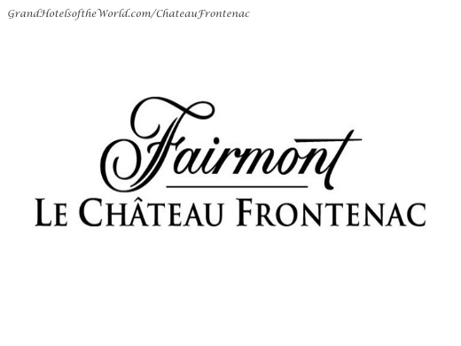 Chateau Frontenac in Quebec City - Logo