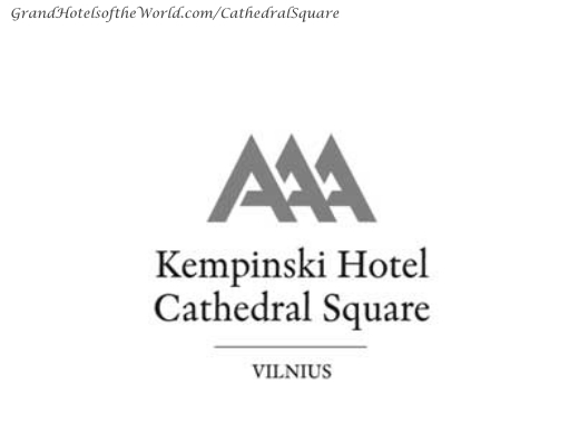 Hotel Cathedral Square in Vilnius by Kempinski - Logo