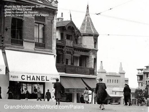 Chanel Boutique Biarritz, photo by frères Seeberger