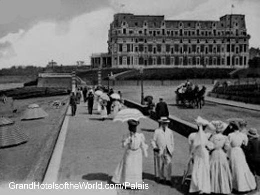Hotel du Palais en 1906