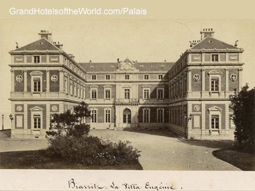 Villa Eugenie à Biarritz